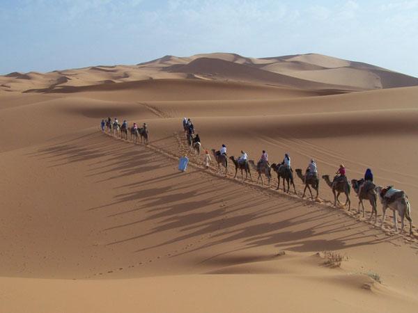 caravane-vers les grands dunes