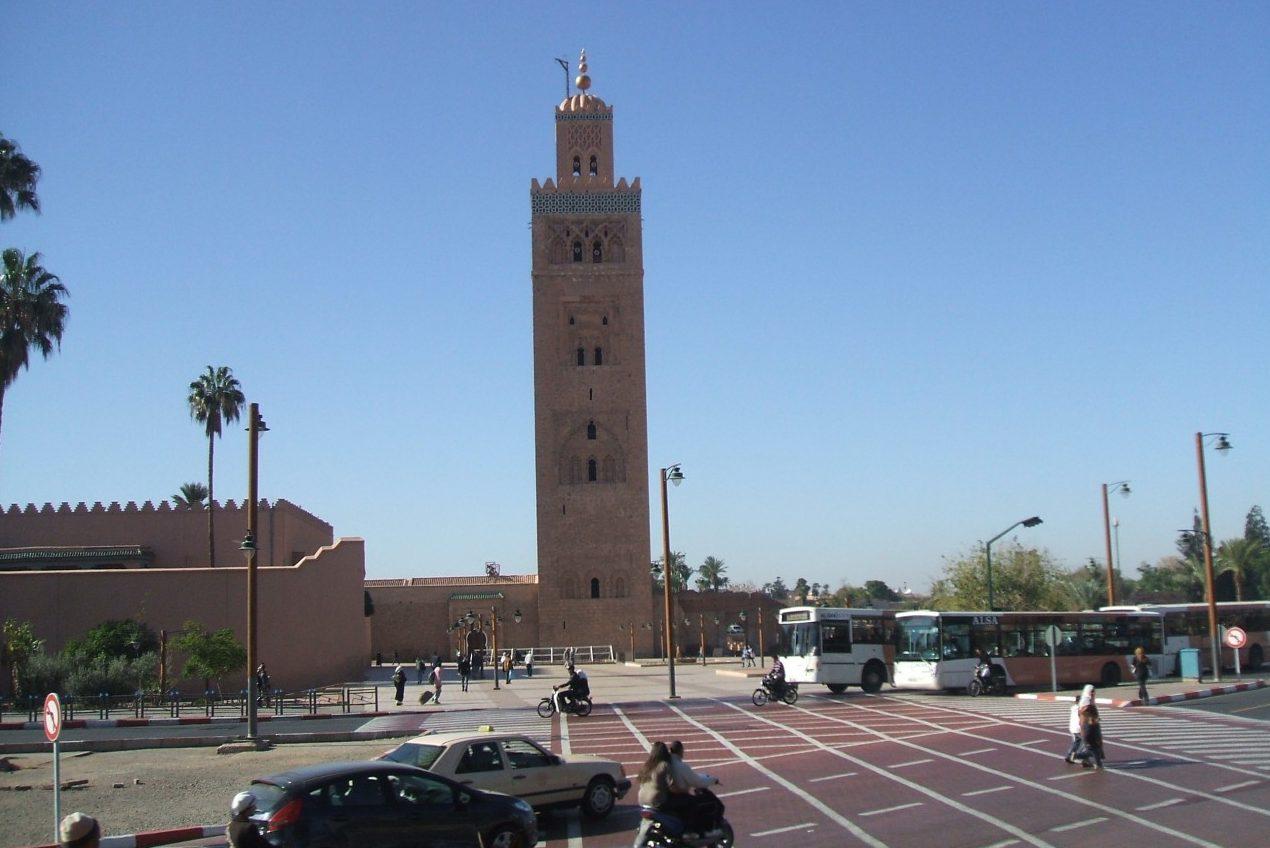 Die Königsstadt Marrakech Und Die Wüste