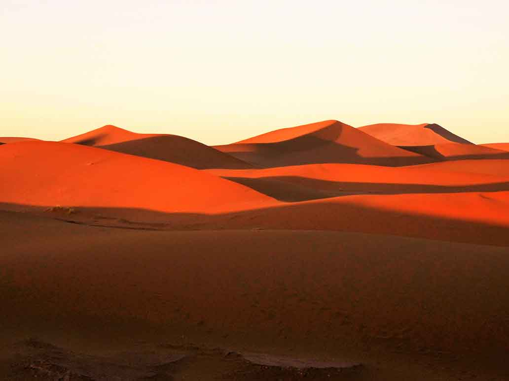 Desert Sands of Erg Chigaga Morocco