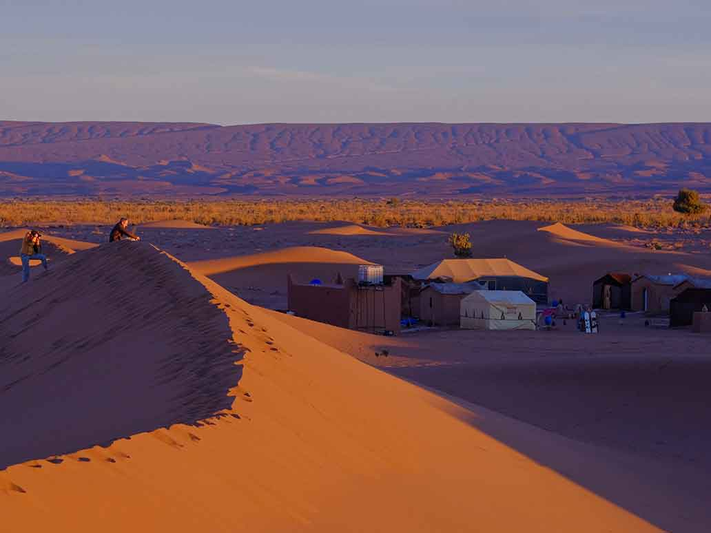 Bedouin Campsite in Morocco | Sahara Tour Groups