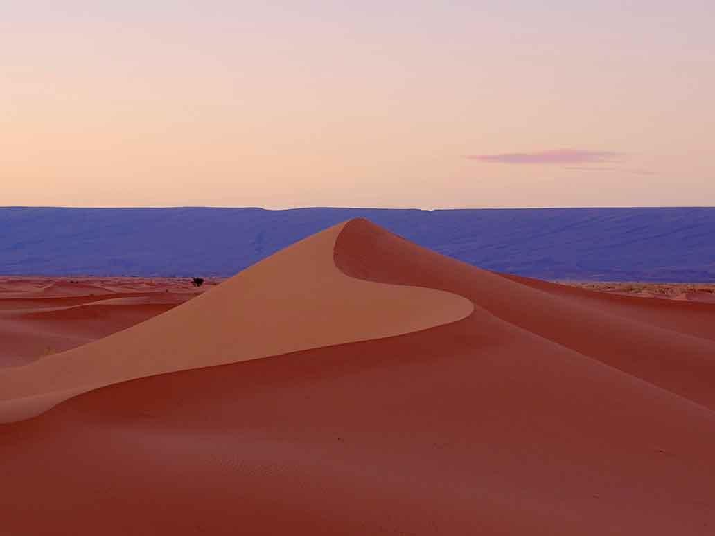 Sand dunes of Erg Chigaga | Sahara Desert Tours