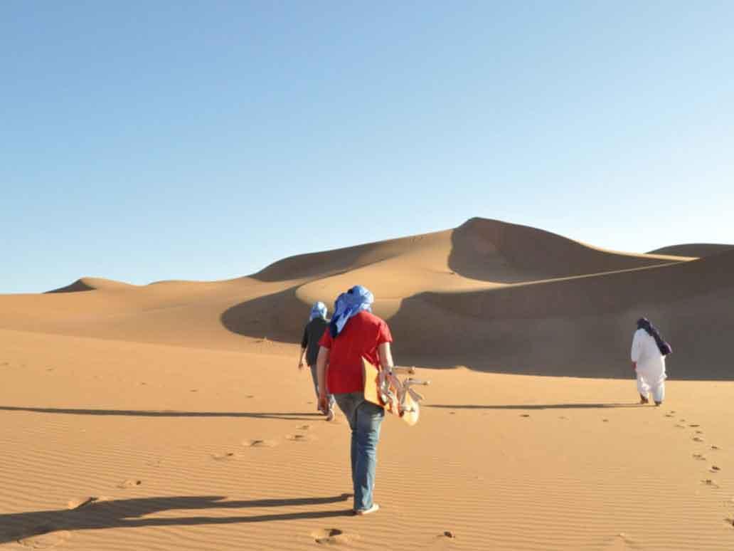 Sandboarding in Morocco | Sahara Desert Tours